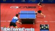 U21 1/4 Final - Russia Open 2012   Patrick Franziska vs Asuka Sakai