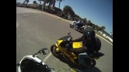 Derek, Jessy and I riding in Dyatona, Flordia