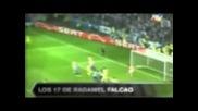 Всички 17 гола на Фалкао в Лига Европа