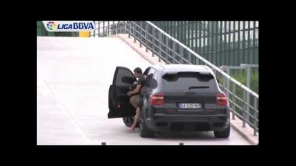 Messi and Alexis Cars