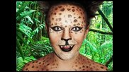 Leopard - Animal Makeup Tutorial!