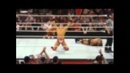 Wwe Raw 11/22/10 The Miz Става шампион на федерацията