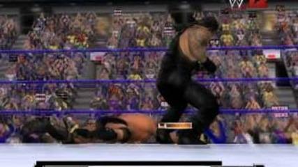 Title mach Undartaker vs Rendy Orton