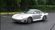 Porsche 959 starup