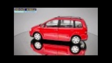 Volkswagen Touran - Welly - 1:24