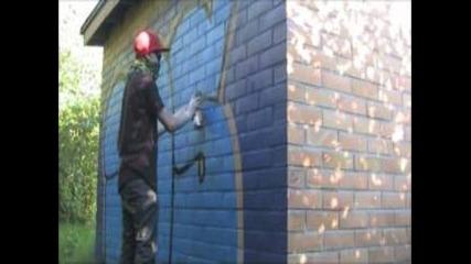 Finland graffiti bombing 2012