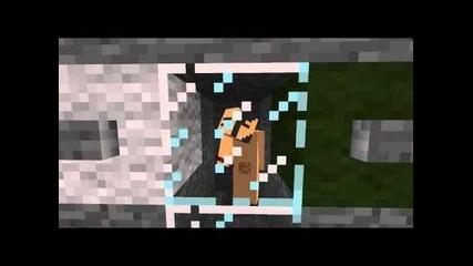 Minecraft Гол човек
