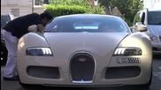 Arab Bugatti Veyron Crusing Scenes In Lond
