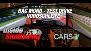 Project Cars Bac Mono @ Nordschleife - Test Drive