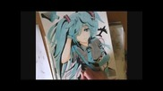 Drawing Hatsune Miku