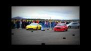 Corvette Z06 vs Skoda 120 580hp