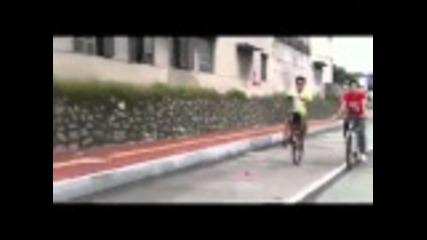 Липсва предното колело? Няма проблем.