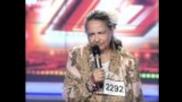 X Factor - журито се гаври с 61 годишна баба !