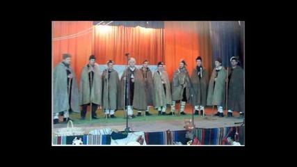Коледарите от село Хрищени на гости в радио Стара Загора