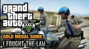 Gta 5 - Mission #41 - I Fought the Law... [100% Gold Medal Walkthrough]