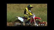 Justin Barcia - 1st Video on 450 (mxptv Rider Session)