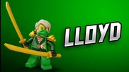 Лего Ниндзя Lego ninja Cole,jay,kai,nya,sensei Garmadon,sensei Wu,zane,lloyd