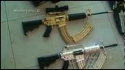 Quitan armas de oro y diamantes a lugarteniente del Chapo Guzm