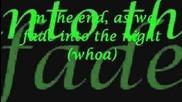 Black Veil Brides - In the end lyrics