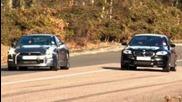 Bmw M5 vs Nissan Gt-r