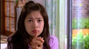 Playful kiss moments