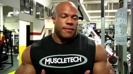 2012 Olympia Arm Training with Phil Heath