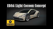 Edag Light Cocoon Concept, an unusual concept at the 2015 Geneva Auto Show
