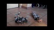 Lego битка между скорпиона и крокодила