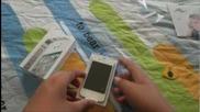 Apple iphone 4s 16 Gb White - Unboxing & Setup