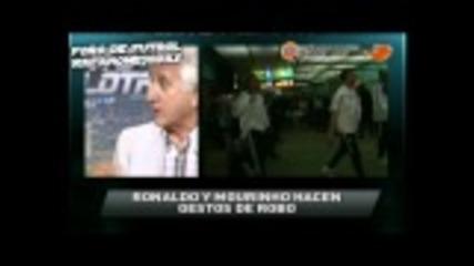 Моуриньо и Роналдо: Ограбиха ни