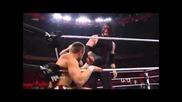 Даниел Брайан срещу Кейн ( Си Ем Пънк и Брайан разговор ) - Wwe Raw 5/21/12