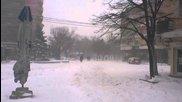 Епическа снежна буря в Сливен 3 - 19.12.2012