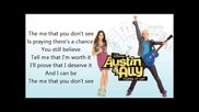 20 - The Me That You Dont See Lyrics (full Song) - Laura Marano - Austin & Ally