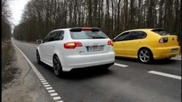 Audi Rs3 340hp Vs. Seat Leon 200hp