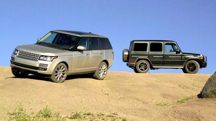 2013 Range Rover vs. 2013 Mercedes-benz G63 Amg!