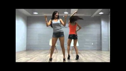 Sistar19 - Ma Boy mirrored dance practice