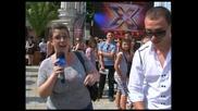 X Factor кастинг Варна - Даниел остана без микрофон