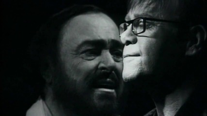 Elton John & Luciano Pavarotti | Live Like Horses - Directed by Peter Demetris