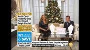 Mariah Carey Butterfly Drop Pav Hinged Bangle Bracelet