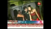 3rd Dec 08 Saas Bahu Aur Betiyaan Aaj Tak Girl Videshi Andaaz:rajan's suprise birthday party