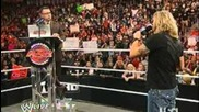 Wwe Raw: Edge Apologize the Gm!!?!?!?! 10/4/10