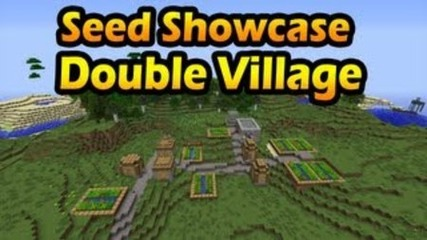 Minecraft 1.3.2 Seeds: Double Village + Stronghold