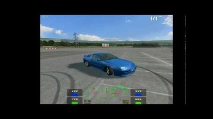 Live for speed Z - How to do a burnout