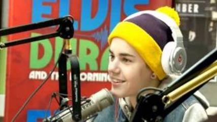 Elvis Duran- Justin Bieber interview