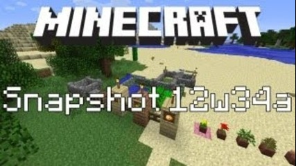 Minecraft Snapshot 12w34a - Frames, New Plantings, Walls & more!