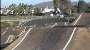 Crazy Bmx Supercross Crash