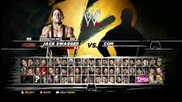Wwe 12 Roster+unlockable/dlc Characters