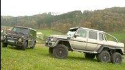 2014 Mercedes-benz G63 Amg 6x6 vs 2014  Head 2 Head Ep. 46