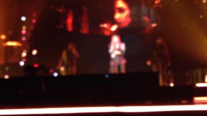 Demi Lovato Neon Lights Tour- Remember Decemeber and Fire Starter 2/15/14