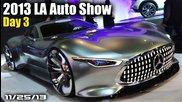 2013 La Auto Show Day 3: Mercedes Vision Gt6, Kia K900, Ford Edge Concept, New Civic Coupe, & More!